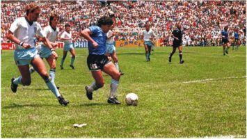 35 años del Gol del Siglo de Maradona