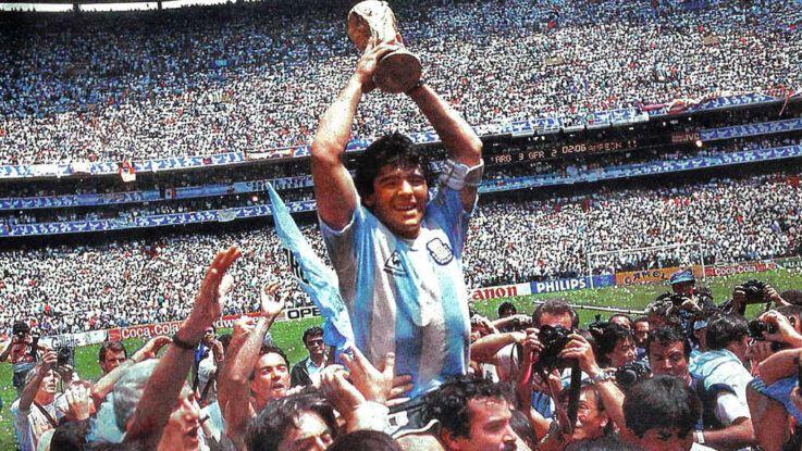 A 35 años recuerdan a Diego Maradona y su título