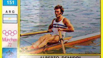 Alberto Demiddi, el coloso del remo