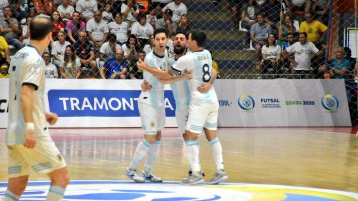 Argentina campeón de futsal sudamericano