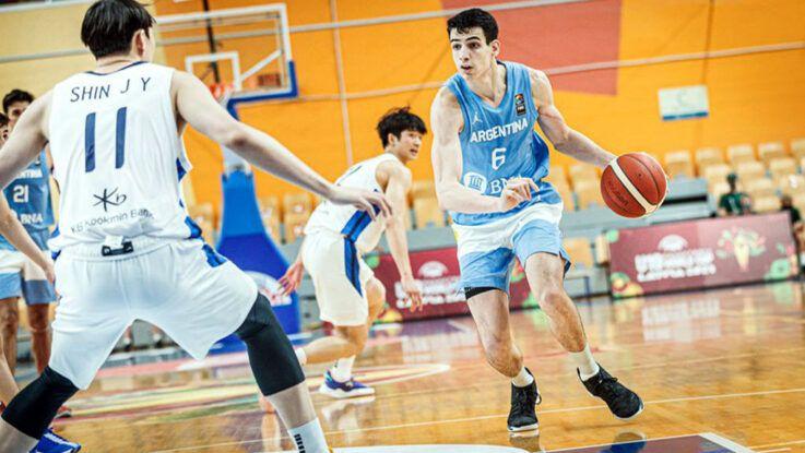 Argentina gana por Mundial U19 de básquetbol