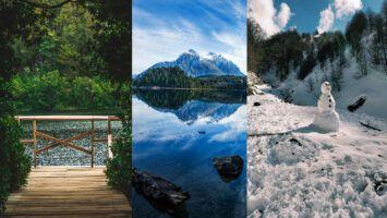 Bariloche con paisajes únicos