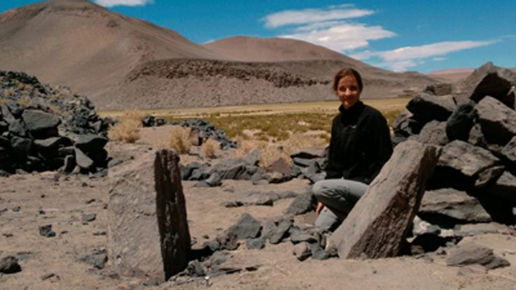 Becaron a joven arqueóloga argentina