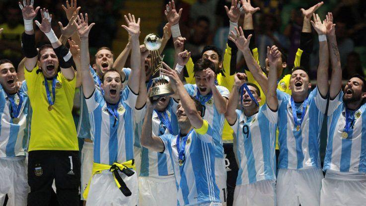 Campeón mundial de fútbol sala