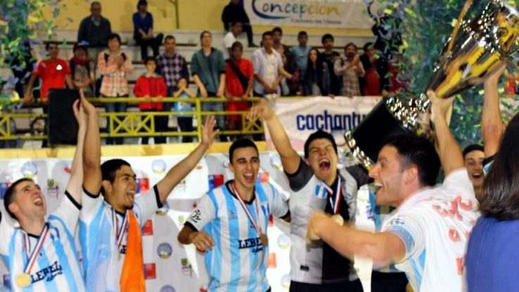 Campeon intercontinental en futsal