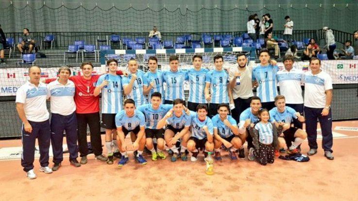 Campeones del Panamericano Juvenil