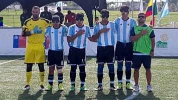 Campeones en fútbol para ciegos