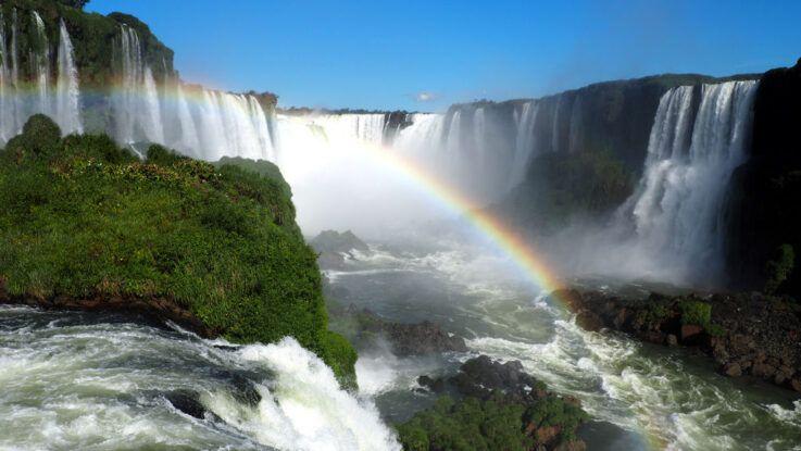 Cataratas del Iguazú como la tercera maravilla del planeta