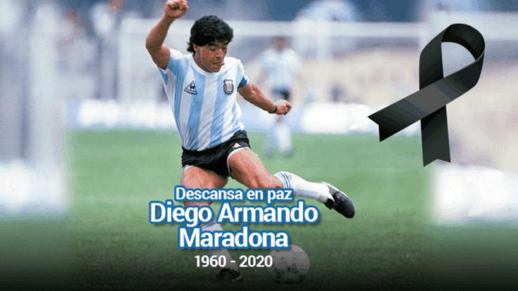Diego Maradona pone de luto a todos
