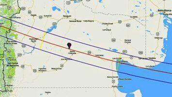 Eclipse total solar 2020 en Argentina