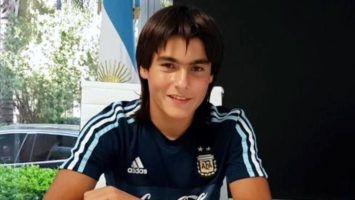 El debut de Luka Romero