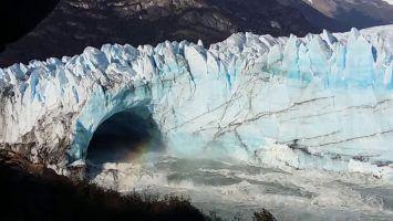 El tunel de hielo patagonico