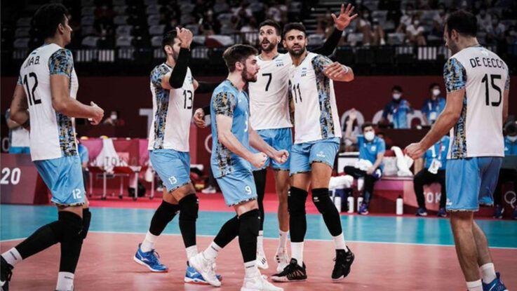 El vóley argentino se mete en semifinales