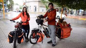En bicicleta a recorrer la Argentina