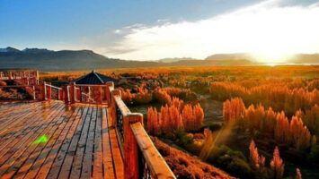 En patagonia un pueblo bonito, alejado y barato