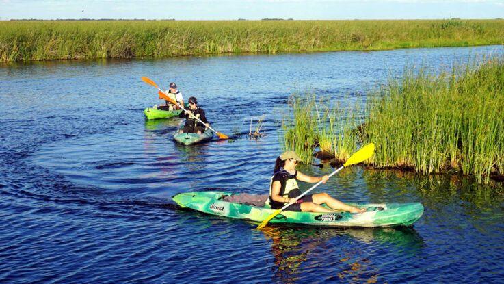 Esteros del Iberá en kayak