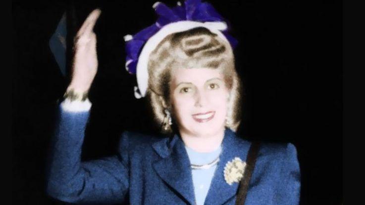Eva Peron, 66 anos del fallecimiento