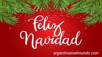 Feliz Navidad Argentina
