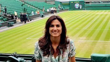 Gabriela Sabatini en Wimbledon