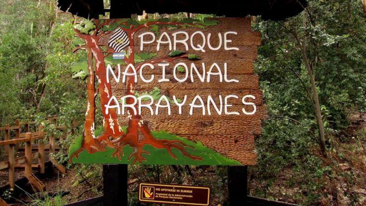 Ingresos a Los Arrayanes y Nahuel Huapi