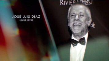 José Luis Díaz recordado en los Premios Oscar