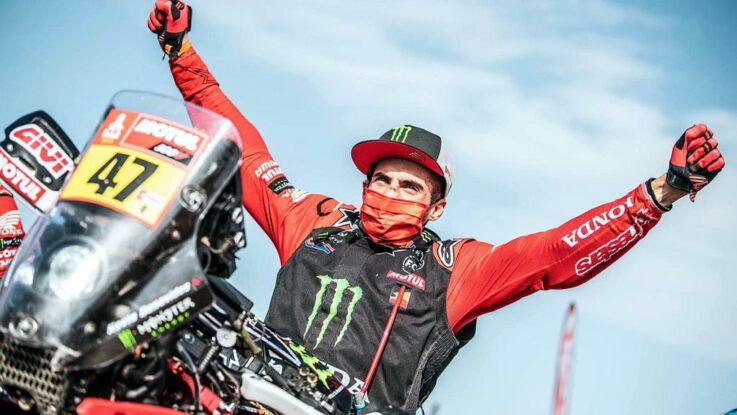 Kevin Benavides gana el Dakar en motos