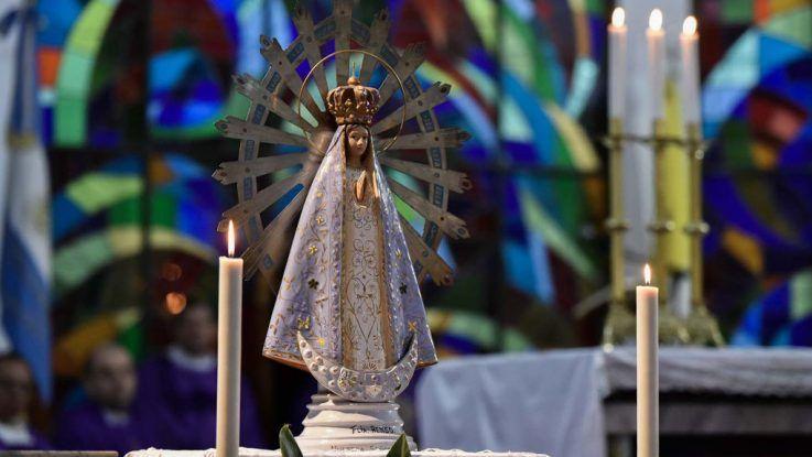 La Virgen de Luján regresa a Argentina