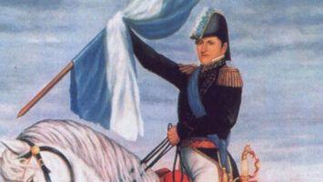 La bandera argentina y su creador