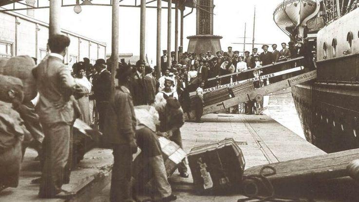 La inmigración italiana y el tango