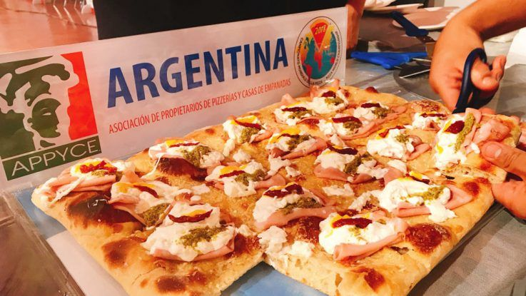 La pizza argentina entre las mejores