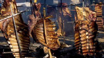 La tradición del asado