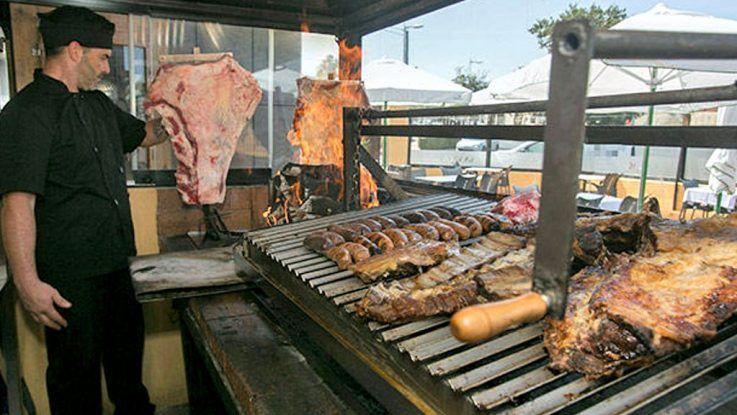 La vaca carne estilo argentino