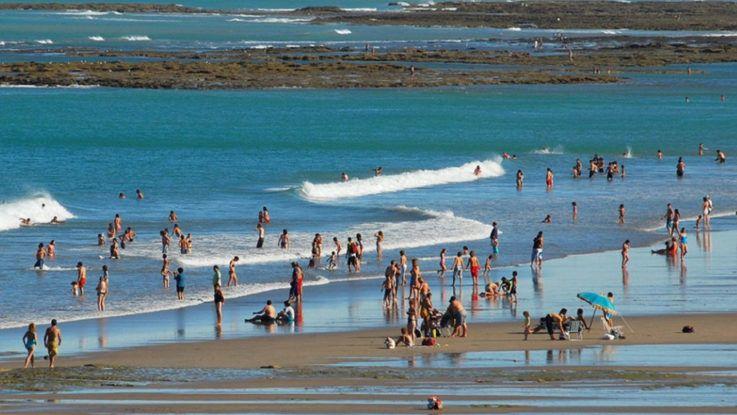 Las Grutas, la mejor playa de Argentina