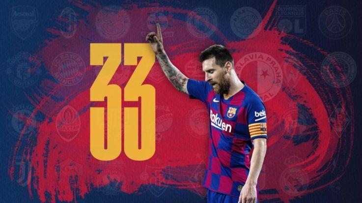 Lionel Messi cumple 33 años