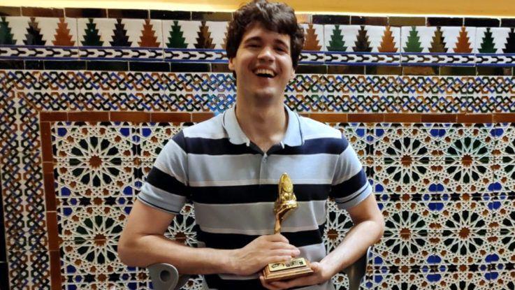 Matías De Andrade se quedó con el Lobo de Oro