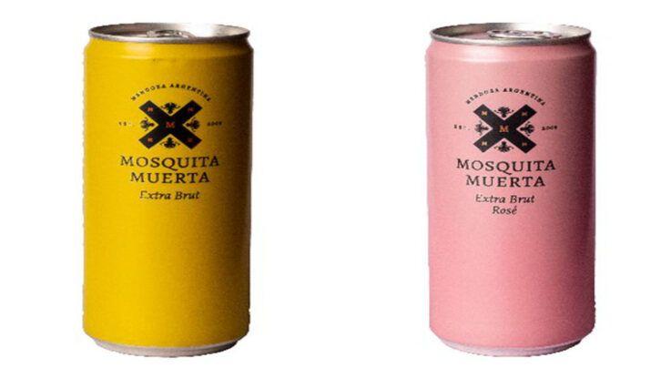 Mosquita Muerta Wines presenta espumantes en lata