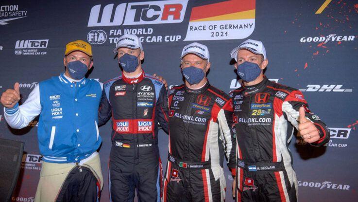 Néstor Girolami subió al podio en Nürburgring