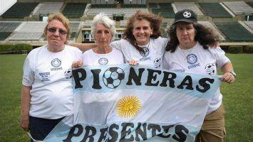 Pioneras del fútbol argentino