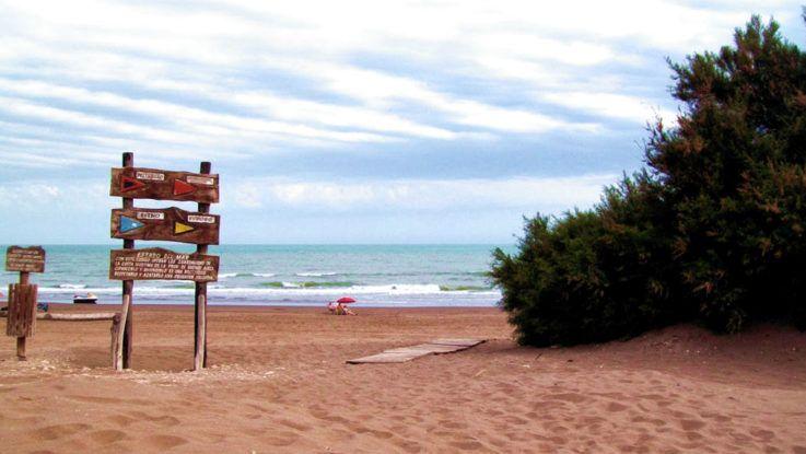Playas argentinas tranquilas