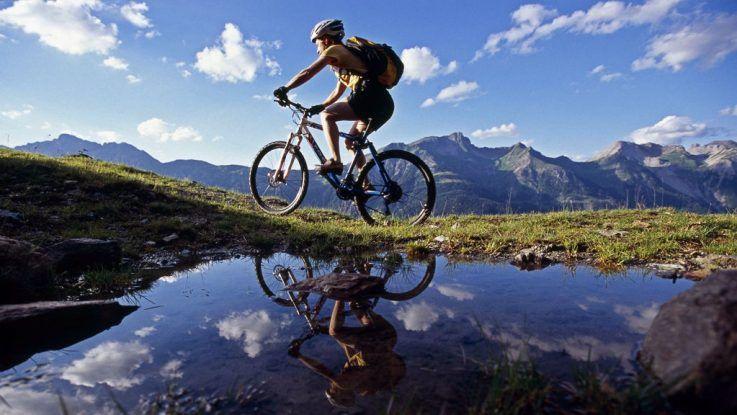 Rutas en bici de montaña