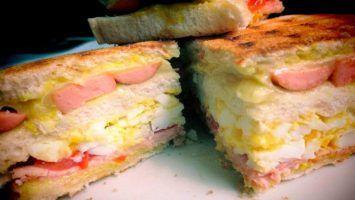 Sándwich hecho en Paraná