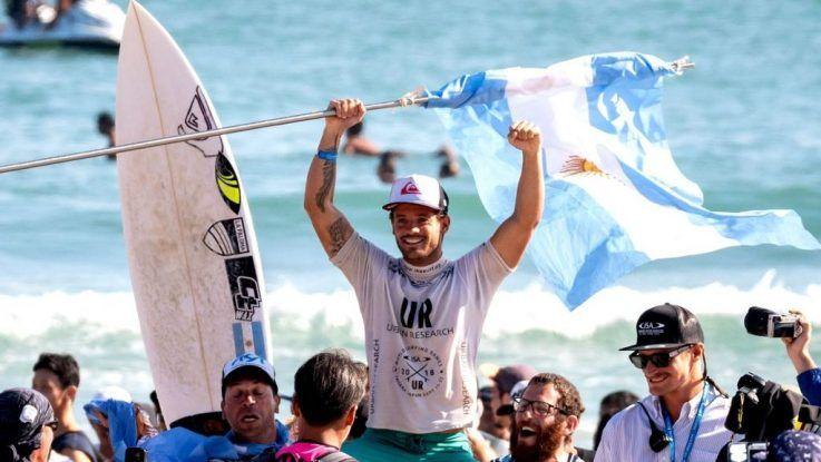 Santiago Muñiz campeón mundial de surf
