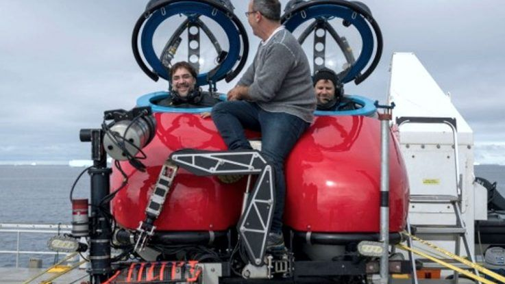 Santuario entre Antartida y Argentina