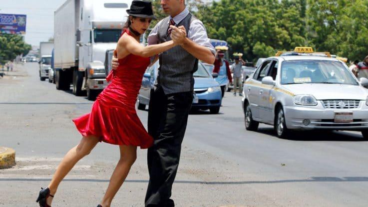 Tango sobre las calles