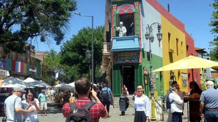 Turismo internacional crece en Argentina