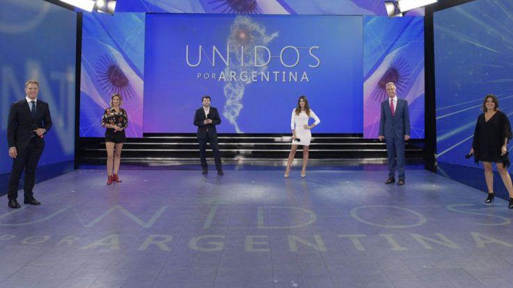 Unidos por Argentina recaudó casi 88 millones de pesos