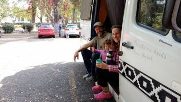 Viajeros argentinos llegan a Michoacán