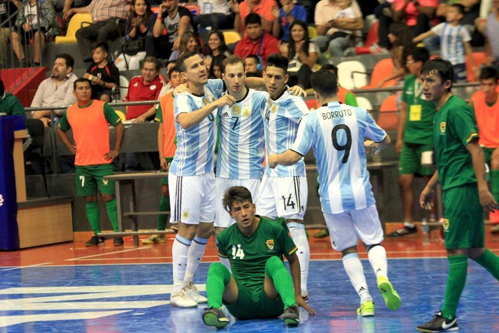 Vamos los pibes del seleccionado argentino de futsal for Mundo del espectaculo argentino