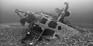 Submarinos nazis en Caleta de los Loros